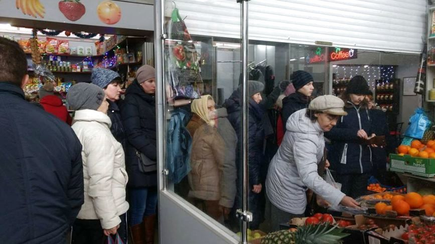 """Місія """"скупити все"""": передноворічний ажіотаж на ринках Хмельницького"""