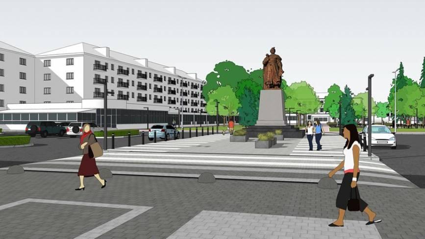 Як виглядатиме привокзальна площа у Хмельницькому після ремонту (ФОТО)