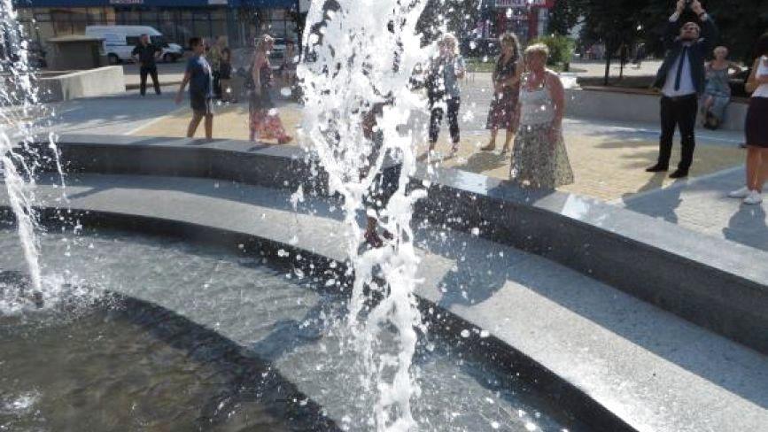 На «Сілістрі» увімкнули реконструйований фонтан. Як він працює?