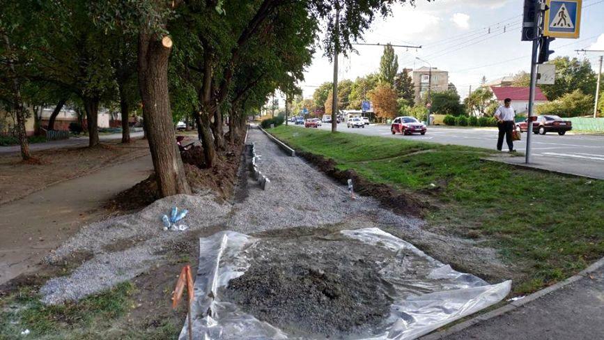 Велодоріжка на проспекті Миру: коли збудують і скільки витратять грошей