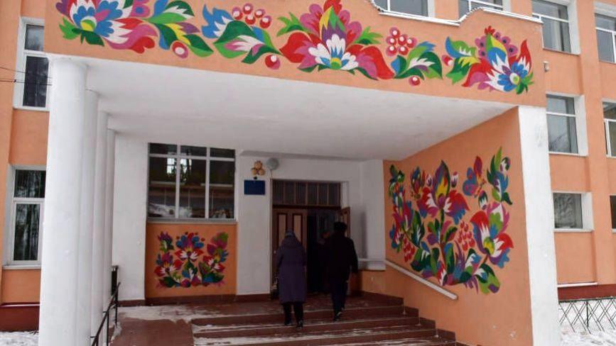 Квіткові будинки та паркани: село на Хмельниччині перетворили у справжній арт-центр