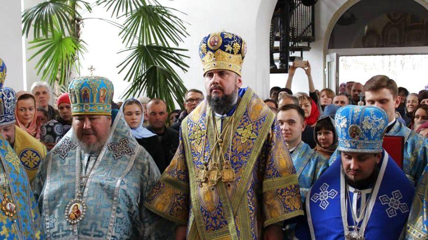 До Хмельницького приїхав Блаженніший Митрополит Епіфаній