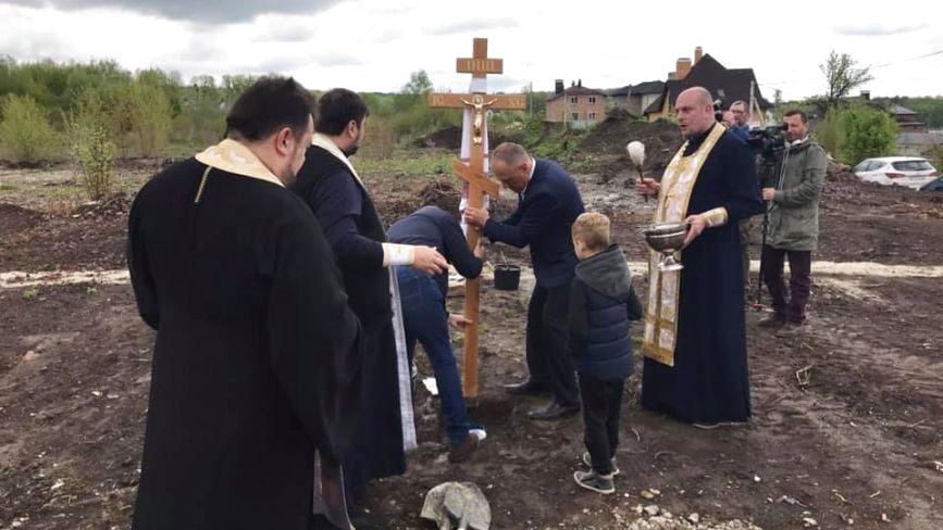 У Хмельницькому збудують перший храм Православної церкви України