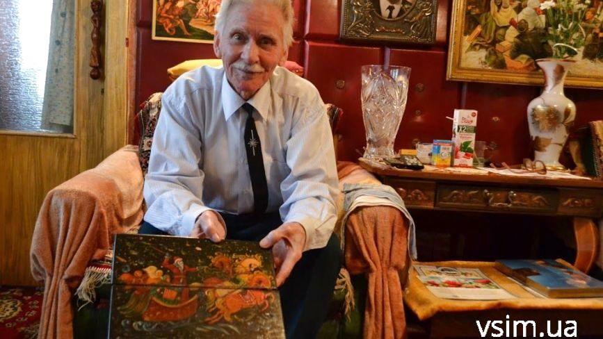 """Хмельницький 92-річний """"живчик"""" розповів про непросту долю і поділився секретом довголіття"""