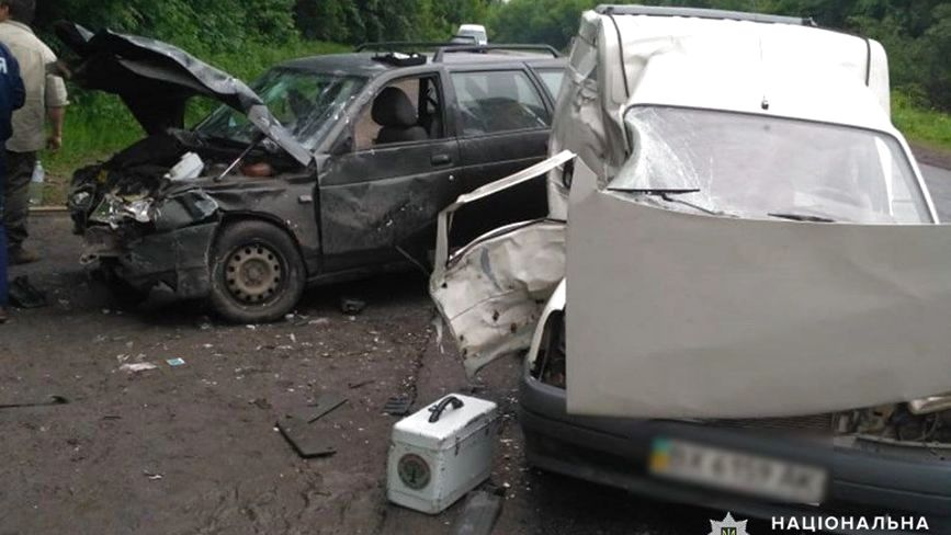 В ДТП на Хмельниччині травмувалося троє людей