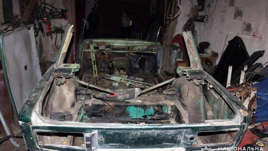 19-річний хмельничанин викрав автомобіль та здав його на металобрухт