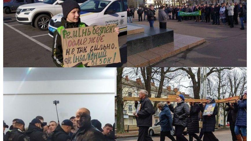 Від страйку під ОДА до хресної ходи: ТОП-5 новин тижня у Хмельницькому