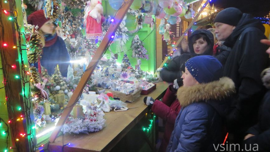 Різдвяний ярмарок на Проскурівській: що продають та за скільки