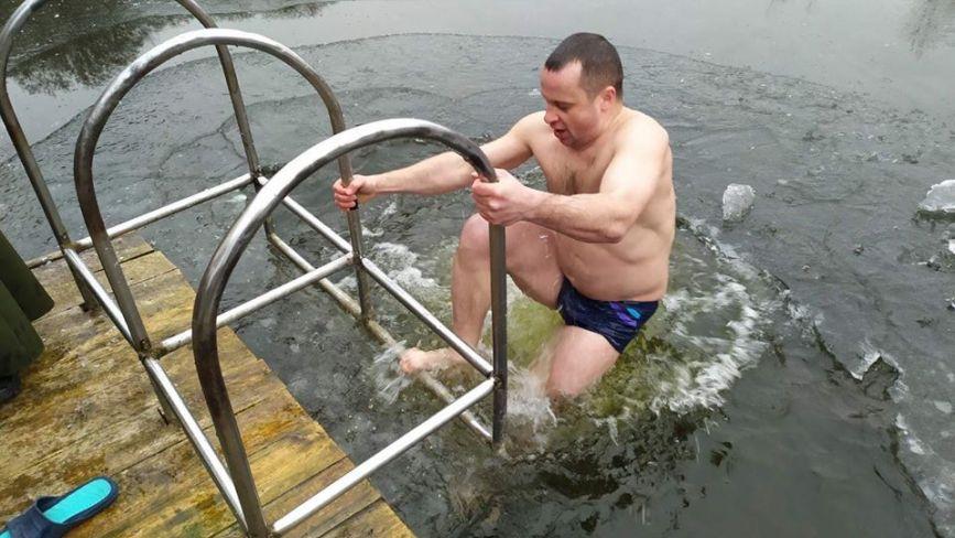 Водохреща у Хмельницькому: фото із соцмереж