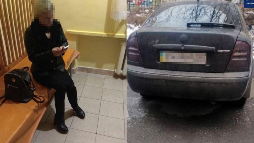 """На Подільській  спіймали водійку """"під кайфом"""" (ФОТО)"""