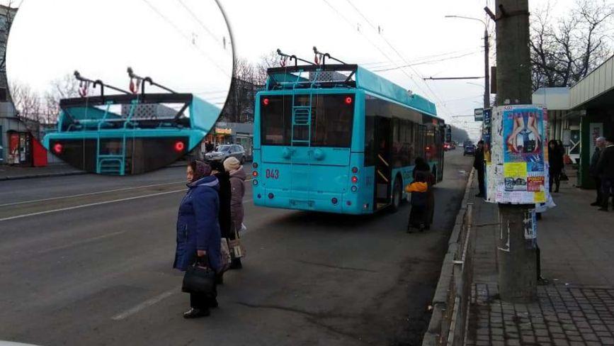 Тролейбуси з автономним ходом випустили на вулиці Хмельницького