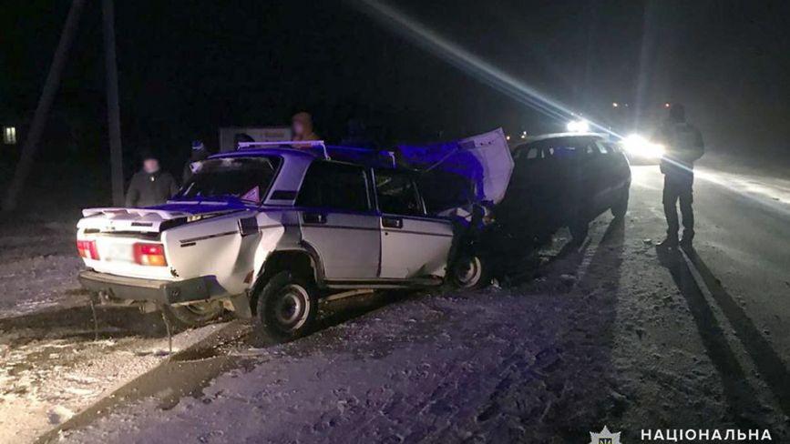 Аварія поблизу Ярмолинців: у лікарні двоє людей