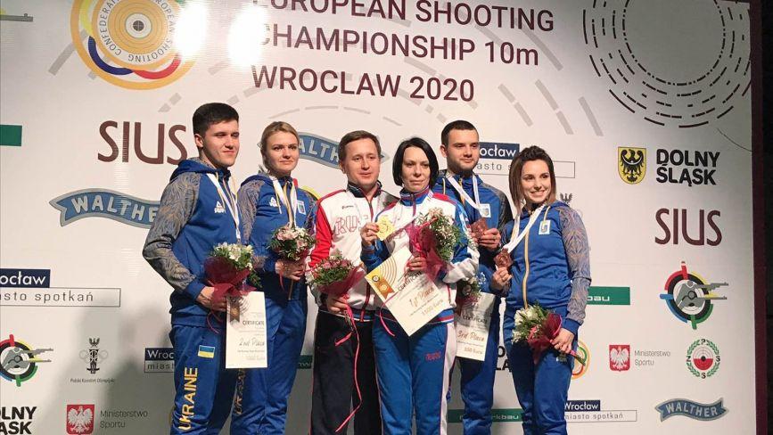 Хмельничани вибороли одразу 12 медалей на чемпіонаті Європи зі стрільби