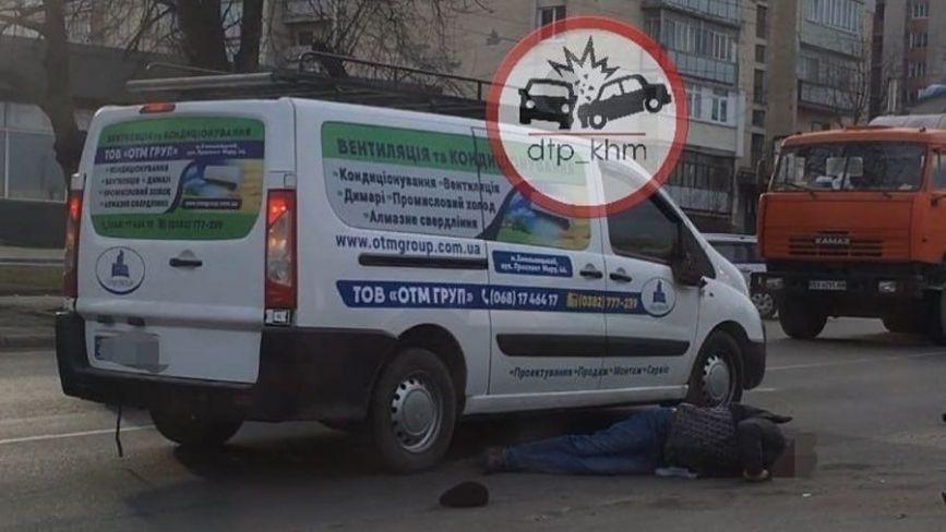 """На проспекті Миру чоловік потрапив під колеса """"Peugeot"""" (ФОТО)"""