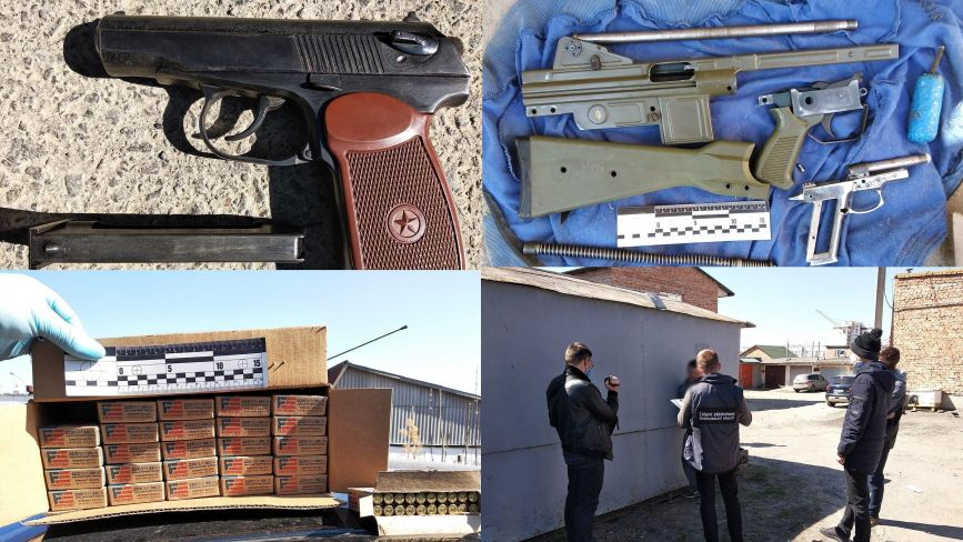 На Хмельниччині затримали чоловіків, які продавали зброю та боєприпаси (ФОТО)
