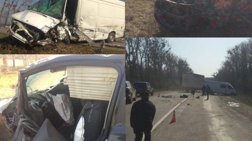 Поблизу Летичева сталася потрійна ДТП: є постраждалі (ФОТО, ОНОВЛЕНО)