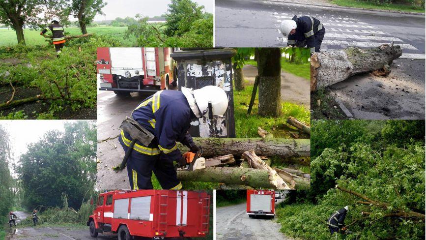 Деревопад, пожежа та підтоплення: негода наробила лиха на Хмельниччині (ФОТО)