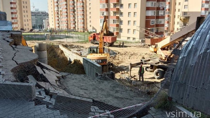 Що може статися з будинком, де зсунувся ґрунт: версії влади та будівельників