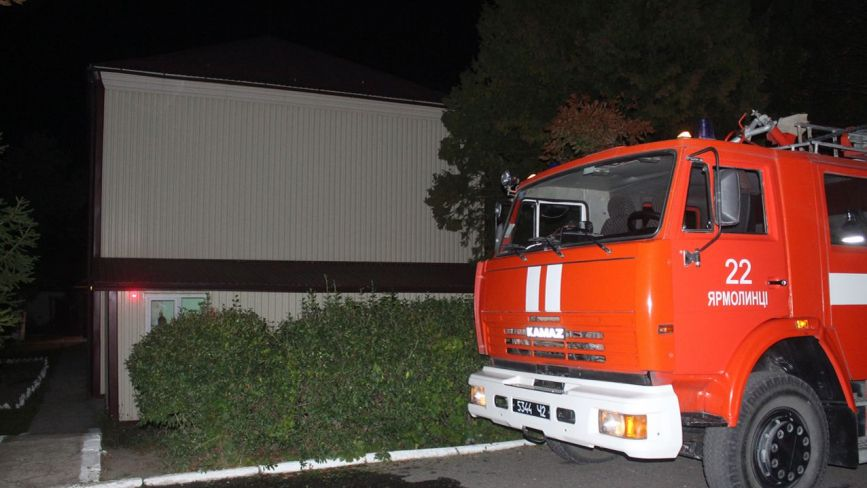 У Скаржинцях вночі евакуювали пацієнтів психіатричної лікарні