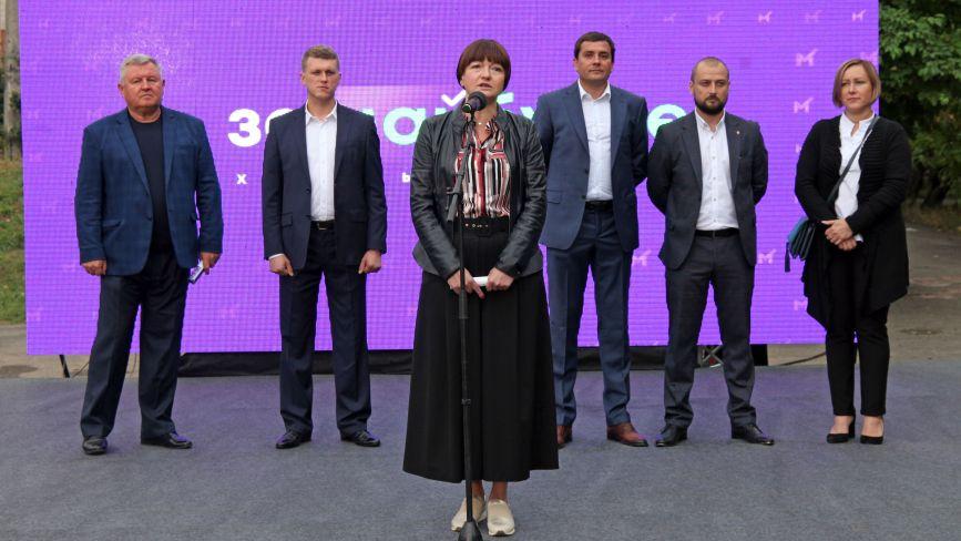 """Я знаю проблеми освіти і готова їх вирішувати – Олена Загіка (пресслужба партії """"За Майбутнє"""")"""