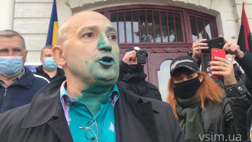 """Власник """"СВ"""" Вікарчук хоче ліквідувати Хмельницьку міську раду: що відповів Симчишин (ФОТО, ВІДЕО)"""
