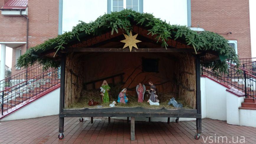 Як виглядають різдвяні вертепи у костелах Хмельницького (ФОТО)