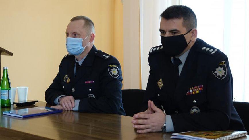 На Хмельниччині представили двох очільників поліції