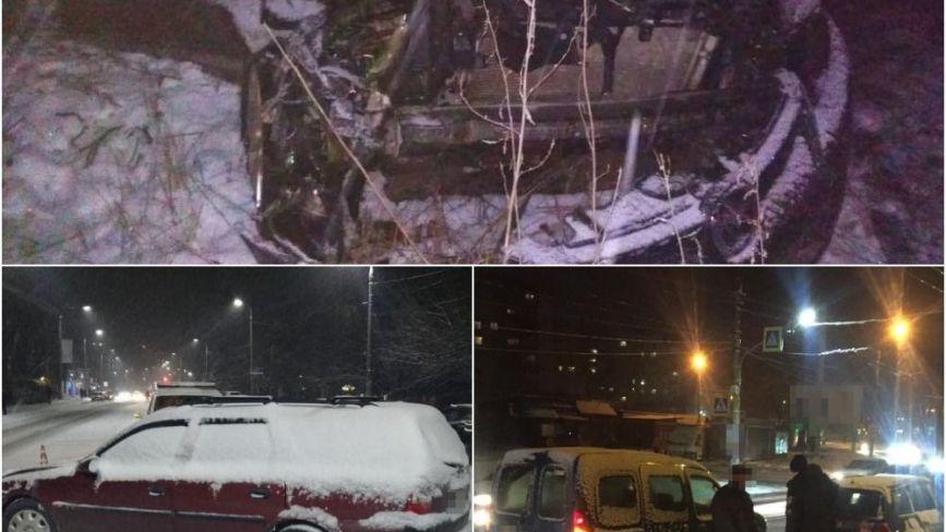 Транспортний колапс: хмельницькі патрульні  за вечір оформили 20 ДТП