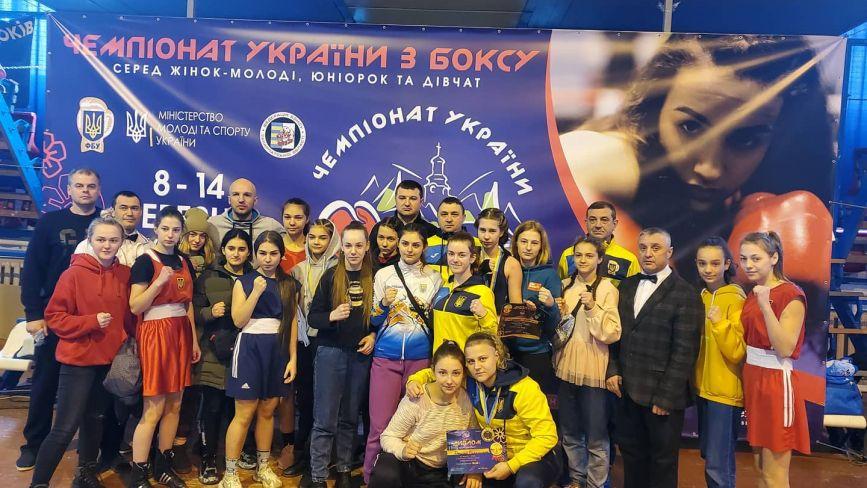 Хмельницькі боксерки завоювали нагороди на чемпіонаті України
