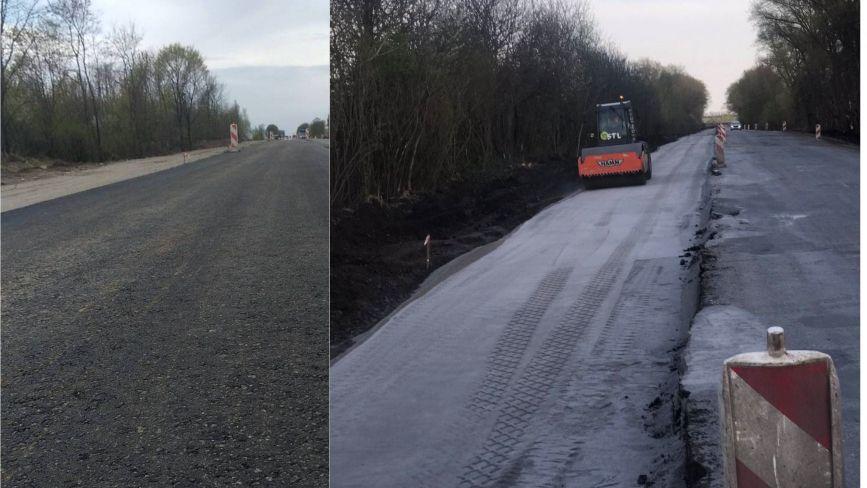 На Хмельниччині триває ремонт траси Н-03: де і що роблять (ФОТО)