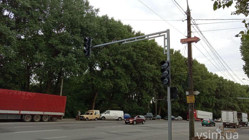 На Старокостянтинівському шосе нові світлофори та перехід: де зроблять та навіщо
