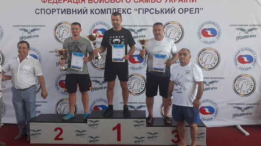 Спортсмени з Хмельниччини здобули нагороди на чемпіонаті України з бойового самбо