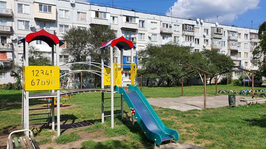 Де у Хмельницькому облаштовують дитячі і спортивні майданчики