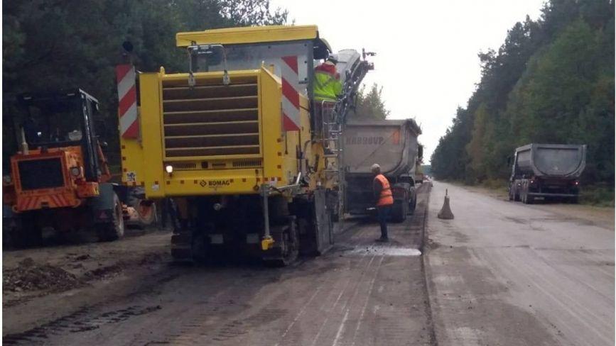 Ремонт дороги Н-25 поблизу Славути: водіїв попереджають про ускладнений рух