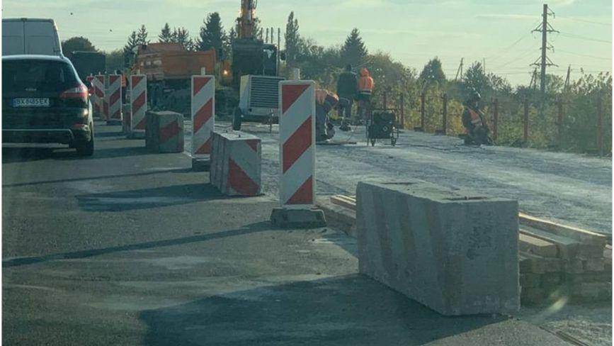 Ремонт дороги Н-03 на Хмельниччині: де обмежений рух