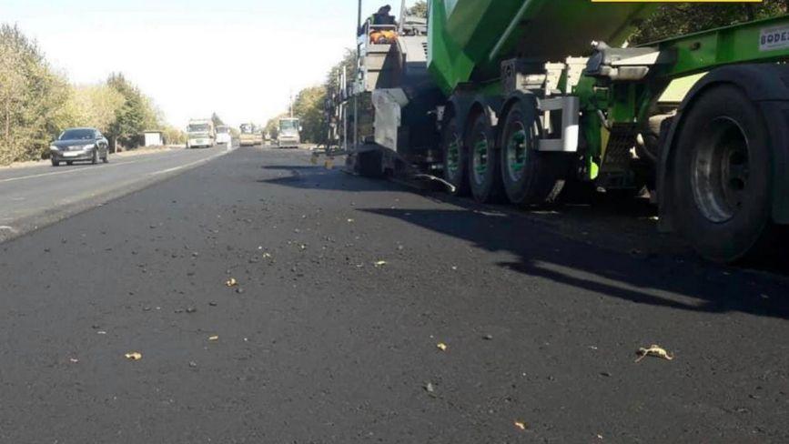 Ремонт дороги Н-03 у Хмельницькому районі:  що роблять зараз