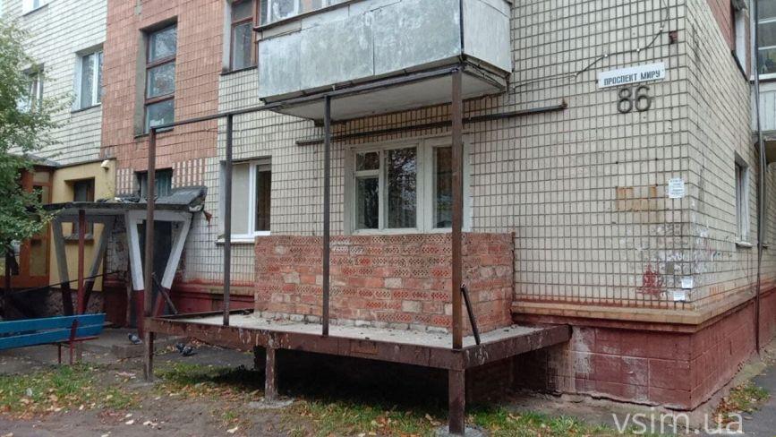 На проспекті Миру власниця квартири незаконно почала добудову. Дізналися деталі