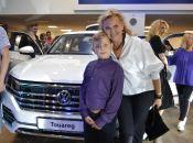 """Динамічний і преміальний: у Хмельницькому презентували новий """"Volkswagen Touareg"""" (новини компаній)"""