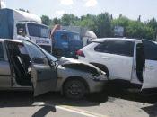 """Біля """"Епіцентру"""" зіткнулися """"Opel"""" та  """"Toyota"""""""