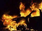 Вночі серед села на Хмельниччині згорів Ford