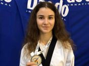Хмельничанка успішно виступила на чемпіонаті Європи з тхеквондо