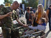 У Хмельницькому триває патріотичний фестиваль «Лицарський хрест» (ФОТО, ВІДЕО)