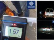 П'ятьох п'яних водіїв за ніч впіймали хмельницькі патрульні