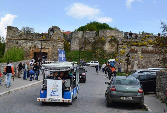 Четверть мільйона заплатили за в'їзд на територію музею-заповідника у Кам'янці-Подільському
