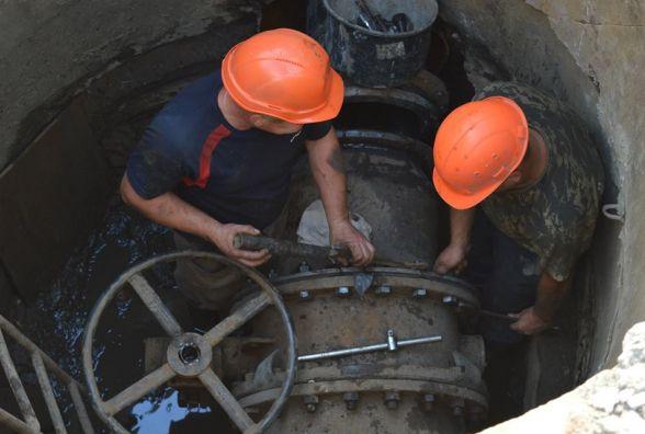 На Красовського водопровід реконструюють за понад мільйон гривень