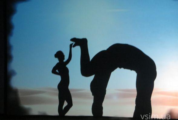 Український комбайн та африканський страус: у театрі Старицького виступали 'Володарі тіней'