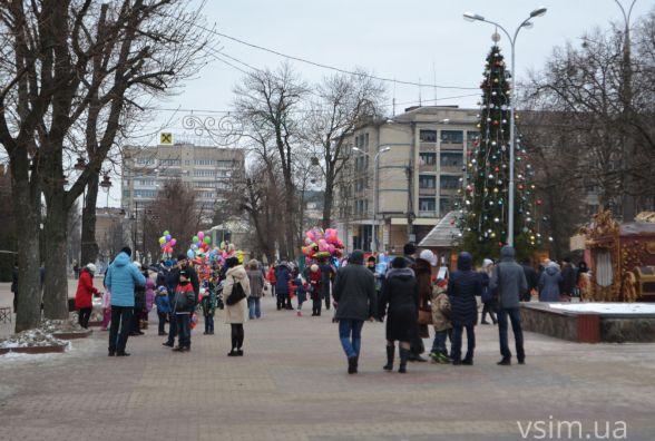 Як виглядає центр Хмельницького після новорічного святкування (ФОТО)