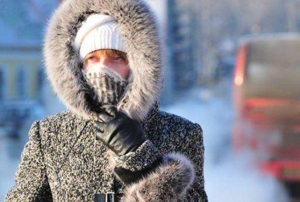 На Різдво синоптики прогнозують сильні морози. У Хмельницькому до -18