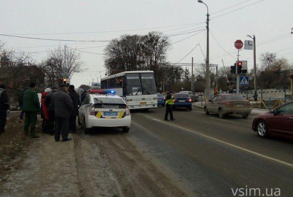 На Толстого вантажівка насмерть збила жінку (ФОТО)