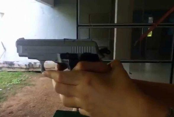 У Красилівському районі дворічний хлопчик вистрелив собі в око